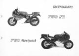 Ducati 750 F1 werkplaats & parts handboek_