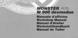 Ducati Monster t/m Bj 1998 werkplaats handboek en owners manual_
