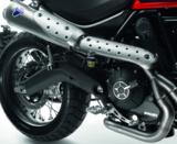 Compleet uitlaatsysteem kit Ducati scrambler_