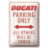 Ducati park only wandbord