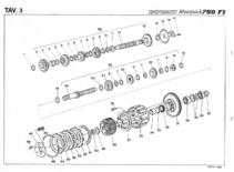 Ducati 750 F1 werkplaats & parts handboek