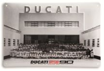 Ducati wandbord 90 jaar bestaan limited editie