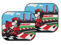 Ducati Cartoon zonnescherm