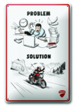 Ducati wandbord Solution
