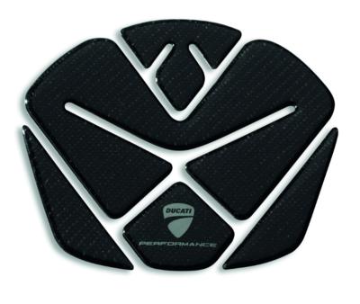 Ducati Diavel tank pad carbon