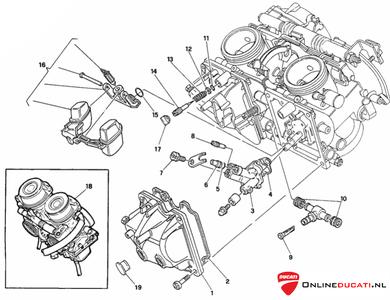 Ducati Carburateur kit