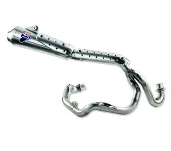 Compleet uitlaatsysteem kit Ducati scrambler