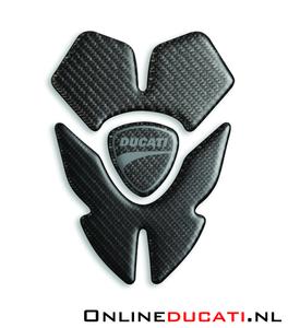 Ducati monster tank pad carbon